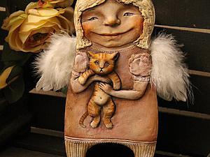 Домашний ангел участвует в конкурсе :) | Ярмарка Мастеров - ручная работа, handmade