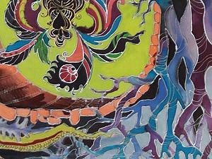 Мастер-класс по Батику ЧЕТВЕРГ 18 августа 12-00. Холодный батик. | Ярмарка Мастеров - ручная работа, handmade