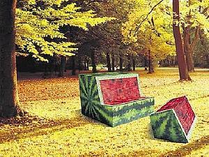 Подборка необычных скамеек   Ярмарка Мастеров - ручная работа, handmade