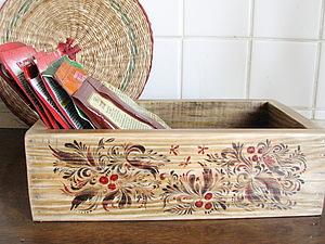 Деревянная коробка под специи (подарок к новому году). Ярмарка Мастеров - ручная работа, handmade.
