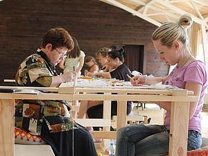 Курсы вышивки люневильским крючком | Ярмарка Мастеров - ручная работа, handmade