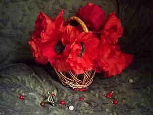 Макововое лето   Ярмарка Мастеров - ручная работа, handmade