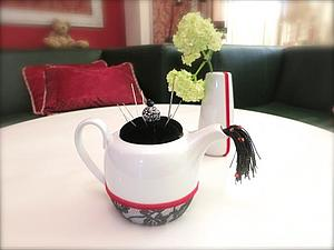 Превращение чайника в игольницу. Ярмарка Мастеров - ручная работа, handmade.