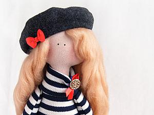 Первый розыгрыш! Интерьерная кукла
