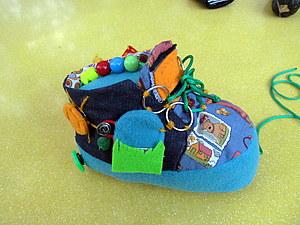 Развивающий ботинок   Ярмарка Мастеров - ручная работа, handmade