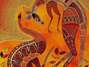 Искусство аборигенов Австралии. Идеи для творчества. Ярмарка Мастеров - ручная работа, handmade.
