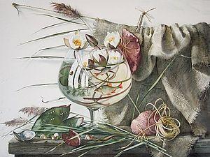Акварели Елены Базановой. Натюрморты часть 1. | Ярмарка Мастеров - ручная работа, handmade