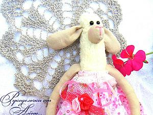 Шьем овечку в стиле Тильда — Маюша. Ярмарка Мастеров - ручная работа, handmade.