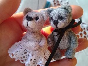 Мишки-малышки.. Ярмарка Мастеров - ручная работа, handmade.