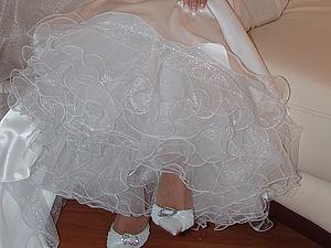 Красивый волан к нижней юбке | Ярмарка Мастеров - ручная работа, handmade