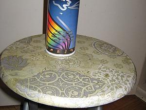 Декорируем табурет. Ярмарка Мастеров - ручная работа, handmade.