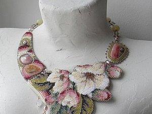 Бисер и цветы..Любимое из моих альбомов-закладок. | Ярмарка Мастеров - ручная работа, handmade