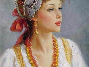 """К истокам: """"Русское узорочье"""" &#8211&#x3B; ювелирное искусство Руси. Ярмарка Мастеров - ручная работа, handmade."""