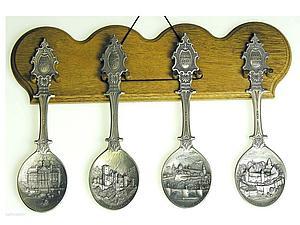Коллекционные оловянные ложки из Германии | Ярмарка Мастеров - ручная работа, handmade