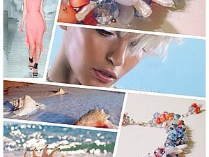 Яркие краски весны (коллекция авторских колье 2015 г. - фотоотчет) | Ярмарка Мастеров - ручная работа, handmade