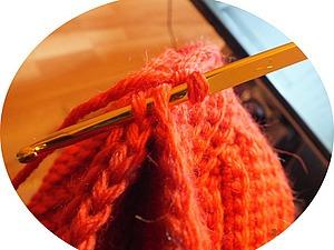 Простой способ соединительного шва при вязании крючком. Ярмарка Мастеров - ручная работа, handmade.