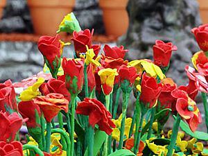 Необычный сад британца James May: «Пластилиновый рай» на выставке цветов Chelsea Flower Show | Ярмарка Мастеров - ручная работа, handmade