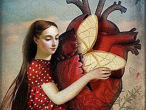 Честные сердца: природа — лучший художник | Ярмарка Мастеров - ручная работа, handmade