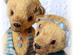 Он-лайн мастер класс по тедди мишкам и их друзьям   Ярмарка Мастеров - ручная работа, handmade