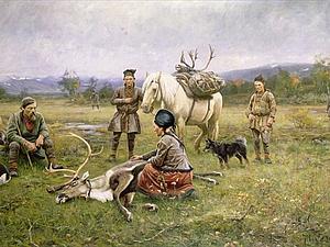 Tenntrad - уникальная саамская нить. Ярмарка Мастеров - ручная работа, handmade.