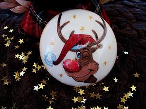 Волшебных носов Оленя Рудольфа сделаю еще только 10 штучек!) | Ярмарка Мастеров - ручная работа, handmade