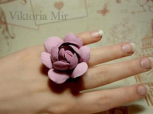 Только 6 и 7 июня кольцо с гарденией всего 250 рублей   Ярмарка Мастеров - ручная работа, handmade