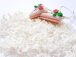 Кокосовая стружка из пластики (быстро и просто!) | Ярмарка Мастеров - ручная работа, handmade