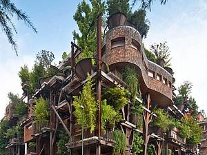Уникальный проект жилого дома дизайнера Лучиано Пиа. Ярмарка Мастеров - ручная работа, handmade.