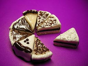 Лепим простейшие шоколадные тортики из полимерной глины | Ярмарка Мастеров - ручная работа, handmade