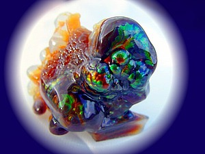 Непредсказуема игра его красок: Огненный агат | Ярмарка Мастеров - ручная работа, handmade