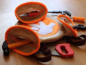 Шьем детский рюкзак-«помогатор» | Ярмарка Мастеров - ручная работа, handmade