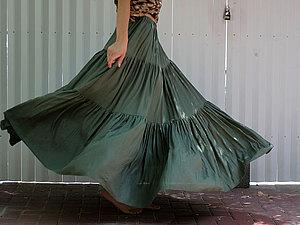 Многоярусные юбки мастер класс
