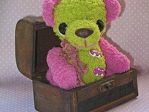 Весенний медвежонок в подарок (конфета) | Ярмарка Мастеров - ручная работа, handmade
