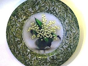 Создаем декоративную тарелку с сизалем. Ярмарка Мастеров - ручная работа, handmade.