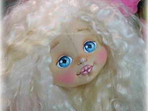 Основные этапы изготовления кукольной головки. Ярмарка Мастеров - ручная работа, handmade.