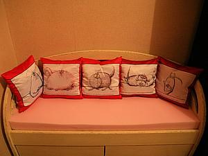 Теперь наши подушечки можно увидеть в живую:)   Ярмарка Мастеров - ручная работа, handmade