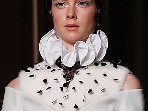 Великолепная «готическая» коллекция Valentino haute-couture осень-зима 2016-2017. Часть 2. Ярмарка Мастеров - ручная работа, handmade.