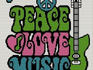 Вязаная музыка | Ярмарка Мастеров - ручная работа, handmade