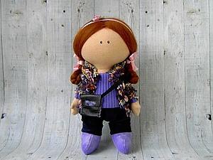 Маленькая кукла (занятие 1)   Ярмарка Мастеров - ручная работа, handmade