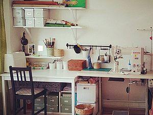 Мастерская и рабочее место — советы. Часть 1. Ярмарка Мастеров - ручная работа, handmade.