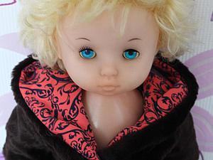 Шьем теплую шубку для куклы-мерзлячки. Ярмарка Мастеров - ручная работа, handmade.