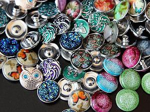 Новое поступление браслетов и кнопочек Нуса (Noosa)!!!!   Ярмарка Мастеров - ручная работа, handmade