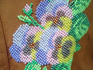 Аукцион с нуля: блузка с бисерной отделкой | Ярмарка Мастеров - ручная работа, handmade