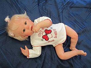 Малышка Василиса - кукла реборн Инны Богдановой | Ярмарка Мастеров - ручная работа, handmade