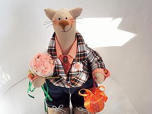 конфетка!!!!!!!Кот кавалер!!!!!не состоялась | Ярмарка Мастеров - ручная работа, handmade
