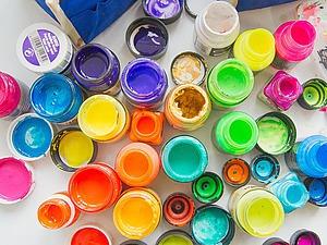 Всё по полочкам, или Какую краску по ткани выбрать? | Ярмарка Мастеров - ручная работа, handmade