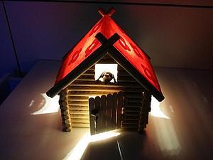 ВНИМАНИЕ АКЦИЯ! Закажи свой светильник-домик по фиксированной цене! | Ярмарка Мастеров - ручная работа, handmade