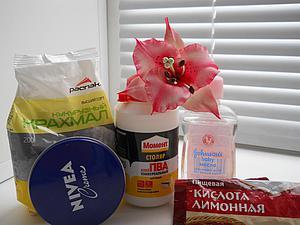 Простой и доступный рецепт холодного фарфора