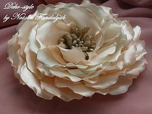Моё новое увлечение - цветы из атласных лент | Ярмарка Мастеров - ручная работа, handmade