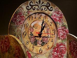 Часы. Шебби-шик и позитивные бейцы. | Ярмарка Мастеров - ручная работа, handmade